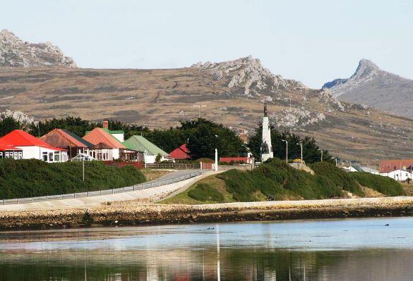 Qué clima predomina en las Islas Malvinas