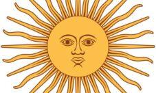El sol de la bandera Argentina
