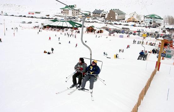 """Centro de esquí """"Los Penitentes"""""""