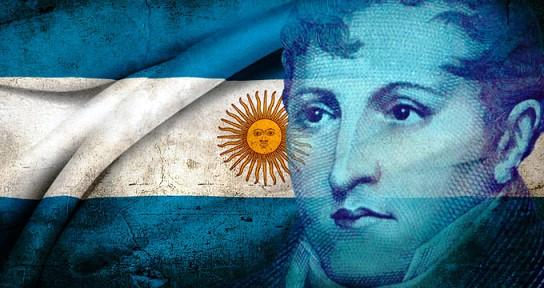 ¿En qué año se creó la bandera de Argentina?