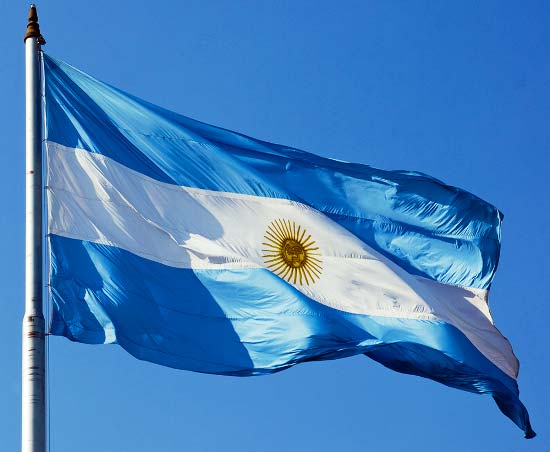 ¿Qué simboliza la bandera de Argentina?