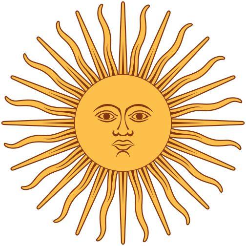 ¿Cuántos rayos tiene el sol de la bandera de Argentina?