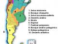 Mapa de biomas de Argentina